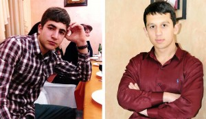 Private soldiers Grigor Avetisyan and Souren Aramyan