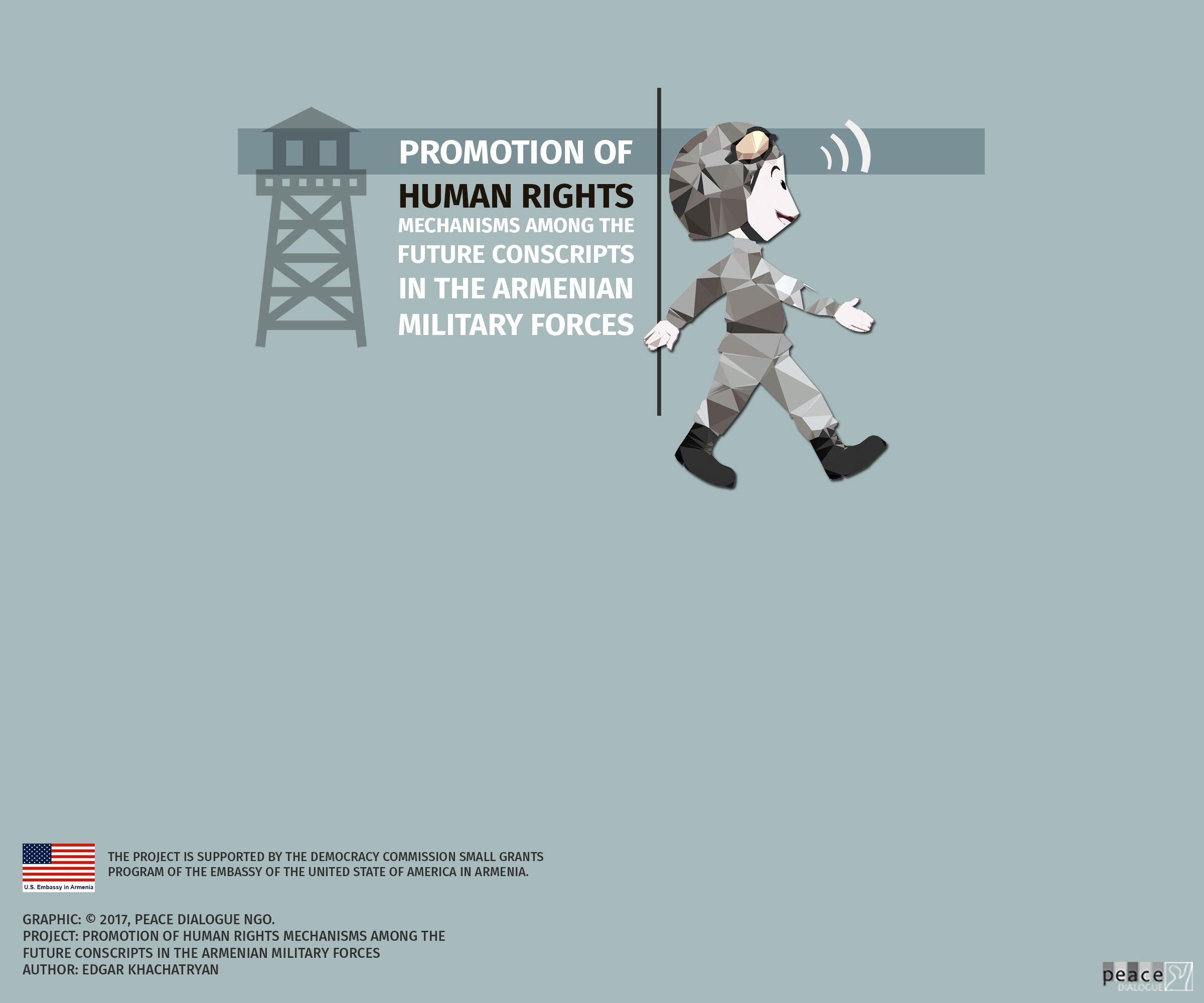 Promotion of Human Rights Mechanisms among the Future Conscripts in the Armenian Military Forces