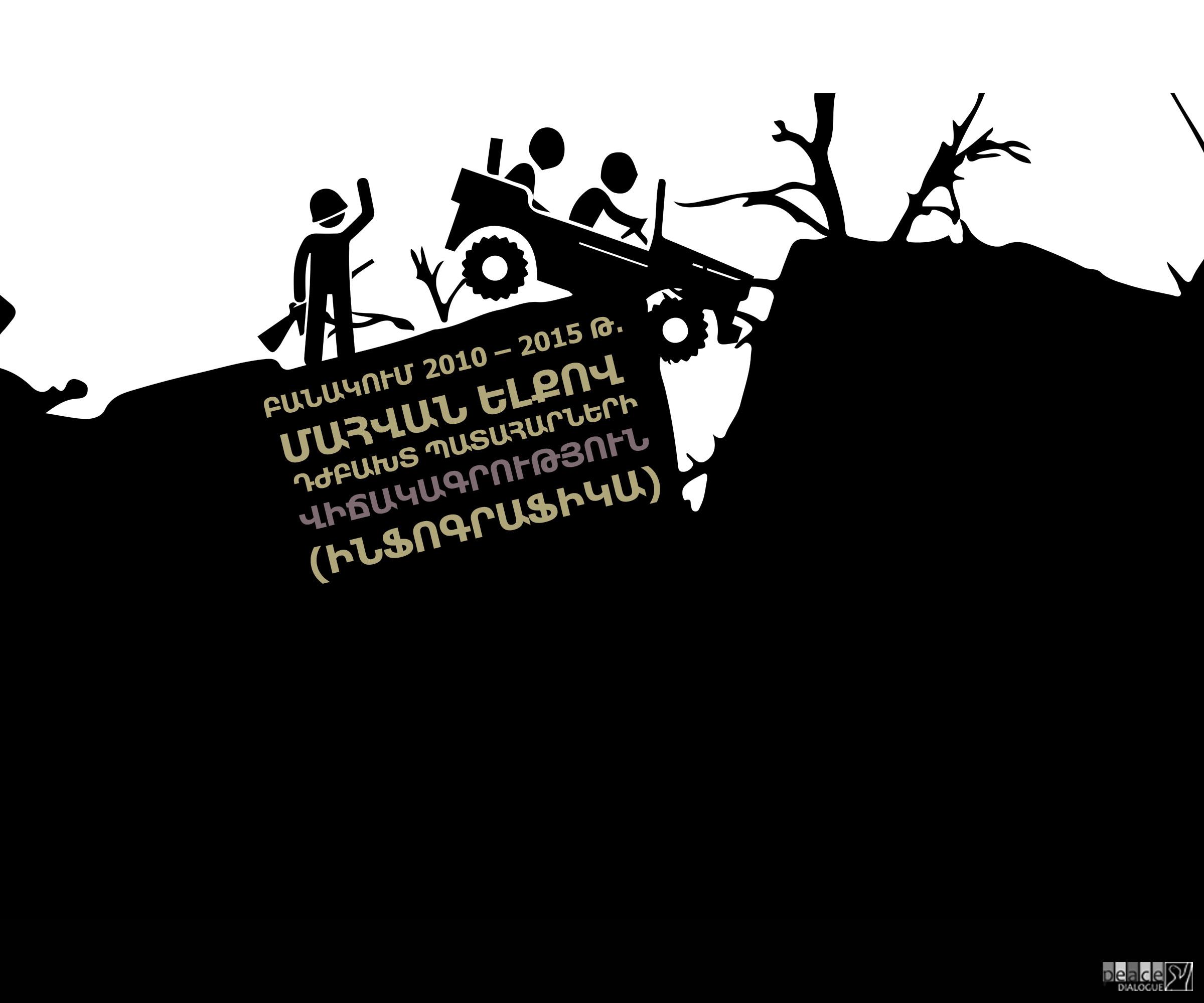ԲԱՆԱԿՈՒՄ 2010 – 2016 Թ. ՄԱՀՎԱՆ ԵԼՔՈՎ ԴԺԲԱԽՏ ՊԱՏԱՀԱՐՆԵՐԻ ՎԻՃԱԿԱԳՐՈՒԹՅՈՒՆ (ԻՆՖՈԳՐԱՖԻԿԱ)